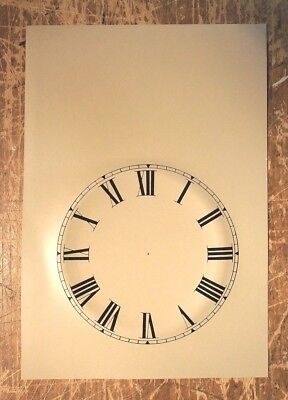 Steeple MANTEL CLOCK DIAL 19TH CENTURY REPLACEMENT NEW OLD STOCK