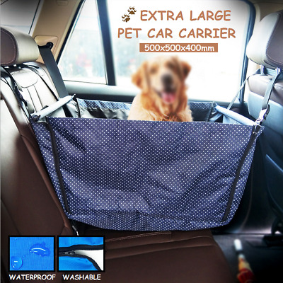 Pet Carrier Dog Cat Car Booster Seat Portable Foldable Travel Protector Basket