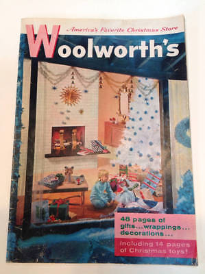Vintage WOOLWORTH'S 1957 Christmas Catalog So Cool!