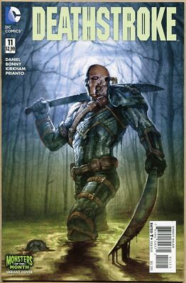 Deathstroke (Vol. 2) #11 - NM- - Monster Of The Month Variant - New 52