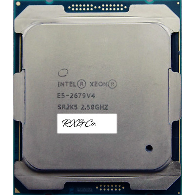 Intel Xeon E5 2679 V4 2.5Ghz Max 3.3Ghz 50MB 20Core 200W Processor