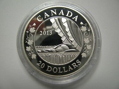 2013 Proof $20 Royal Infant #2-Baby Crib Canada COIN ONLY .9999 silver twenty do
