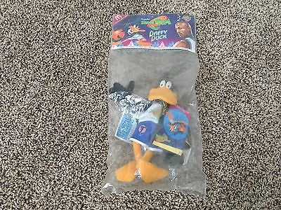 McDonald's Space Jam Daffy Duck Collectible Toy Plush Stuffed Animal New Sealed