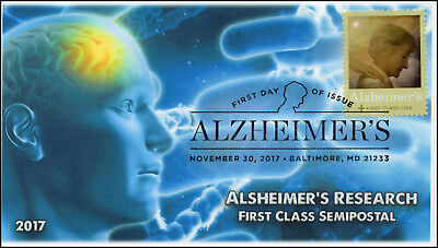 17-419, 2017, Alzheimer's Research, Baltimore MD, Pictorial, FDC, Pictorial Post