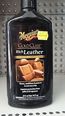 MEGUIARS - Gold Class Rich Leather Cleaner & Conditioner *Gel* #G72141