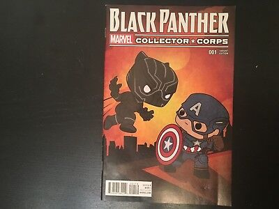 Black Panther #1 Collector Corps Variant Signed By Brian Stelfreeze Marvel NYCC