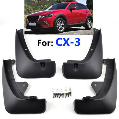 Set Mud Flaps For Mazda CX-3 CX3 2016 2017 2018 Splash Guards Mudguards