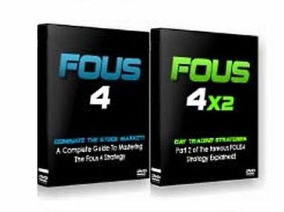 Fous 4 + Fous 4x2 - New Day Trading Stratgies- Fous Alerts DVD