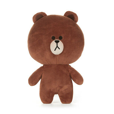 LINE FRIENDS Character Plush Doll Toy STANDING BROWN Bear Large Season 5