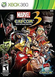 Marvel vs. Capcom 3: Fate of Two Worlds (Microsoft Xbox 360, 2011)