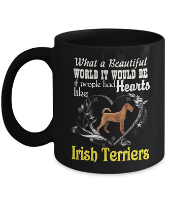 Irish Terrier, Irish Red Terrier, Irish Terriers, Coffee Mug