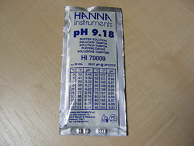 Hanna Ph Solution Calibrage Tampon Evaluation Sachet 9.18 - Haute 70009 HI-70009