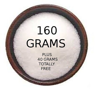 Microdermabrasion crystals aluminium oxide 160 grams ***BUY ONE GET 40g FREE***