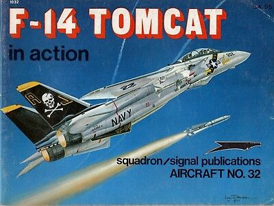 F-14 Tomcat in action SQUADRON/SIGNAL Aircraft Nr. 32 + Japanisches Heft zur F14