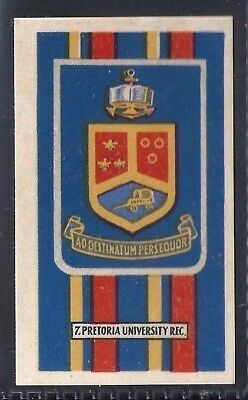 Kramers-Badges Of South African Rugby-#07- Pretoria Uni - Protea