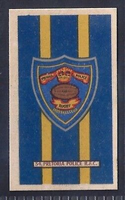 Kramers-Badges Of South African Rugby-#34- Pretoria Police - Fairplay Turkish