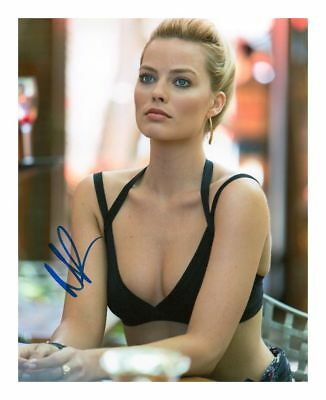Margot Robbie Signed Autographed A4 Photo Print Poster
