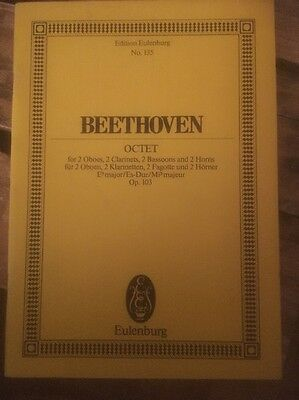 Edition Eulenberg; No 135 Beethoven OCTET