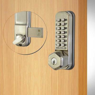 Codelocks CL200 Surface Deadbolt With Key Override