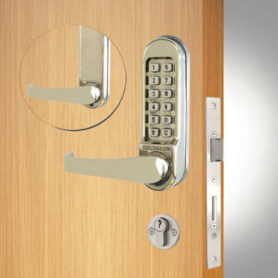 Codelocks CL520 Mortice Lock SS