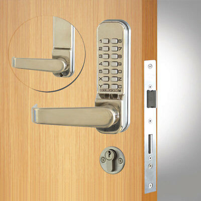 Codelocks CL420 Mortice Lock SS