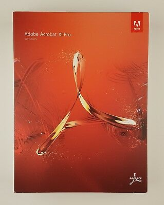 Adobe Acrobat 11 Professional XI Pro Windows Win Retail Box Deutsch 65195251