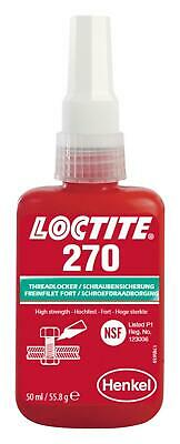 270-10ml Loctite 270 High Strength Studlock 10ml - Free UK Postage