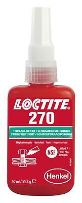270-50ml Loctite 270 High Strength Studlock 50ml - Free UK Postage