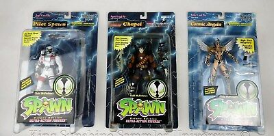 Spawn Ultra Action Figuren: Deluxe Edition (1995): in OVP / Mint!