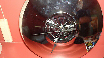 Vintage Volkswagon Hubcap Clock Great For Man Cave