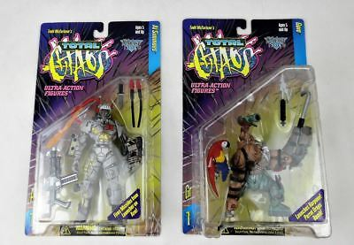 Spawn Ultra Action Figuren: Total Chaos Serie 1 (1996): in OVP / Mint!