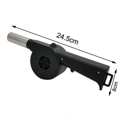 Barbecue Fire Bellows Tools Outdoor Cook BBQ Fire Manual Fan Air Blower AU@