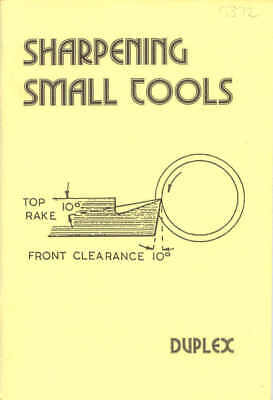 Sharpening Small Tools by Duplex