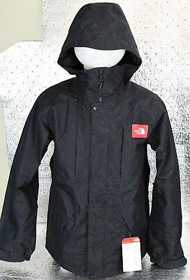 84605c87cf7c0 New Genuine Mens The North Face Turn It Up HyVent Jacket Size S Black MSRP  $170