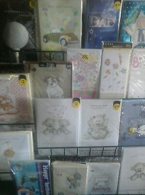 60 general gift cards, wholesale joblot greeting cards