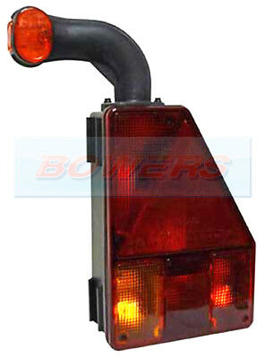 Aspock Earpoint 1 Rear L/h Combination Tail Light Lamp For Ifor Williams Trailer
