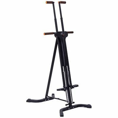 Foldable Climbing Machine Vertical Climber Cardio Gym Exercise Fitness Stepper