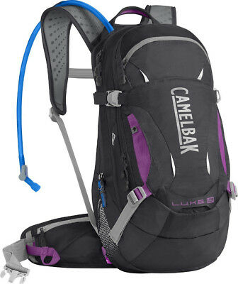 CamelBak Luxe 14 LR 3L Hydration Pack Charcoal/Purple