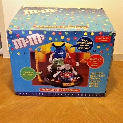 M&M's Animated Talking Telephone Collectible