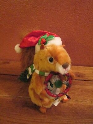 Gemmy Squirrel Singing Animated Christmas Too Much Traffic