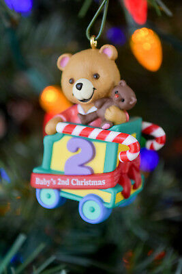 Hallmark: Child's Second Christmas - Child's Age Collection - Keepsake Ornament