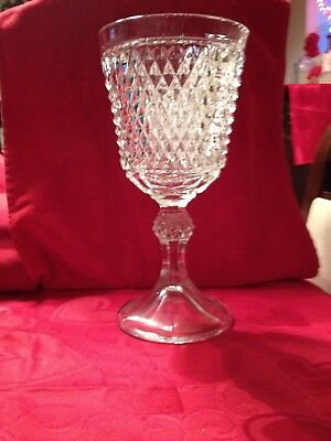 Anchor Hocking Wexford Pattern tall compote