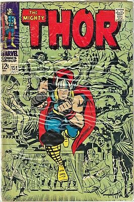The Mighty Thor #154 (July 1968, Marvel Comics)