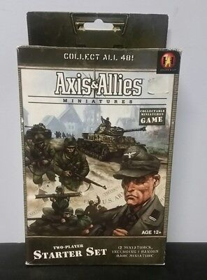 Axis & Allies Miniatures - Two Player Starter Set