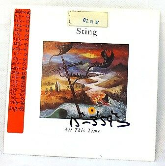 Sting All This Time&i Miss You Kate (Single Schallplatte)