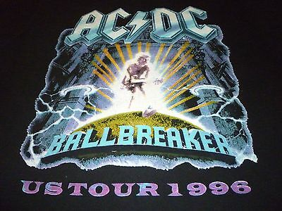 AC/DC Vintage 1996 Tour Shirt ( Used Size Missing 1 Tag ) Very Good Condition!!!