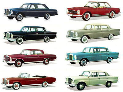 Mercedes Workshop Service Manual w108 w109 w113 w112 w111 110 300 250 230 220