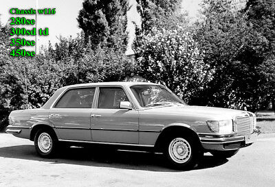 Mercedes Service Workshop Repair Manual W116 280se 350se 450se 300sd Td S  Class