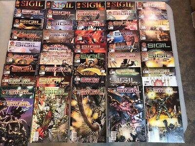 Sigil 1-42 Crossgen Comics Complete Set Plus 1-4 Marvel Set Chuck Dixon