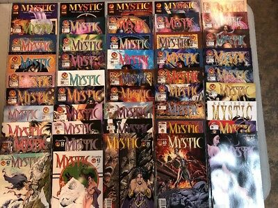 Mystic 1-43 Complete Set Plus 1-4 Set Crossgen Comics